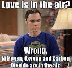 Sheldon Love is in the air